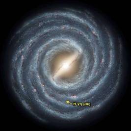 earth in our galaxy